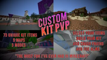 Custom Kit PVP Minigame 1.17+ Minecraft Map & Project