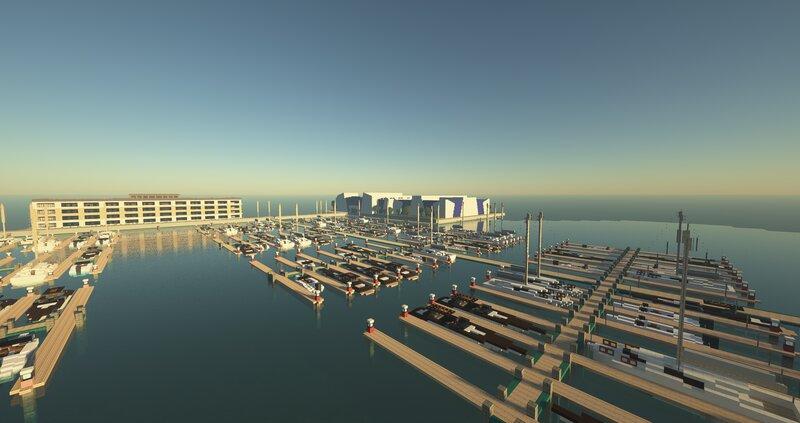 Boat jetties