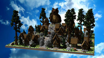 SPAWN HCF - MEDIEVAL Minecraft Map & Project