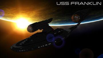 Star Trek: USS Franklin w/ Interior (+ Download!) Minecraft Map & Project