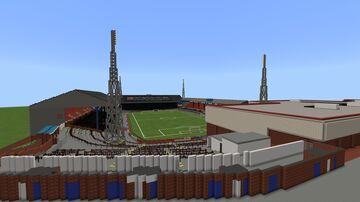 Burnden Park (Bolton Wanderers 1895-1997) (1993 version) Minecraft Map & Project