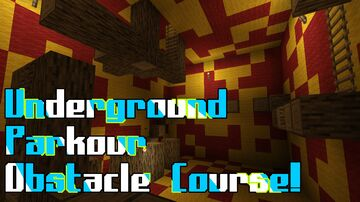 Underground Parkour Obstacle Course! Minecraft Map & Project