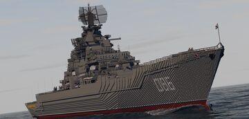 Atomic Battleship Kirov 1144 Minecraft Map & Project