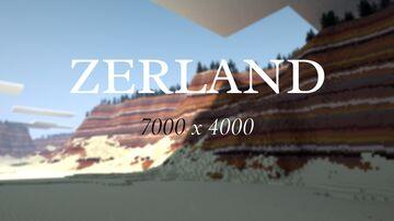 Zerland ~ 7000 x 4000 ~ 1.17 ~ All MC Minecraft Map & Project