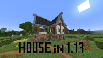 House in 1.17 V1.0 Minecraft Map & Project