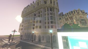 ideas for the interior of an apartment in london Minecraft Map & Project