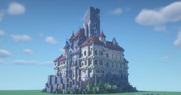Castle Gut-Götzenstein Minecraft Map & Project