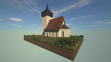 Medieval Romanesque Church Minecraft Map & Project