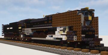 1.5:1 Scale Union Pacific FEF-3 #844 Steam Locomotive Minecraft Map & Project
