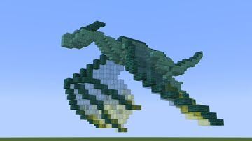 That small dragon Minecraft Map & Project