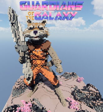Rocket - from Guardians of the Galaxy Minecraft Map & Project