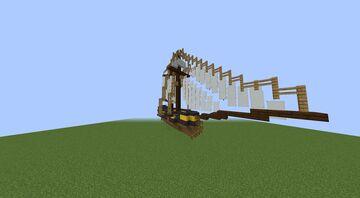 10-Gun Schooner Minecraft Map & Project