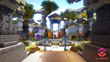 Odyssey ❯ Factions Spawn Minecraft Map & Project
