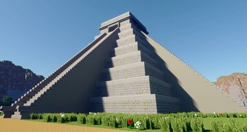 Maya Pyramid - With Download Minecraft Map & Project