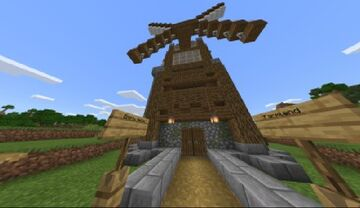 Windmill Minecraft Map & Project