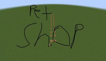 Pet Shop For Bedrock Minecraft Map & Project