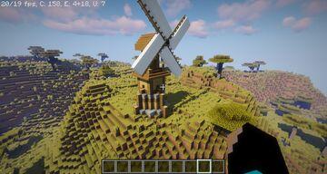 WindMill Tutorial Minecraft Map & Project