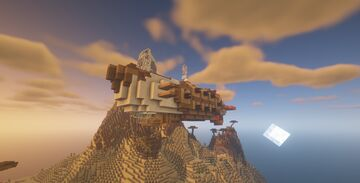 The Desert Rhino of Axol - [ Movecraft Airship ] - Minecraft Map & Project
