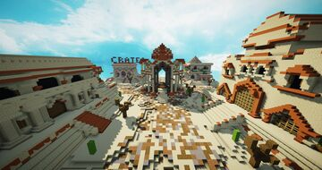 HCF / KitMap Spawn + Road - Desert Theme [FREE DOWNLOAD] Minecraft Map & Project