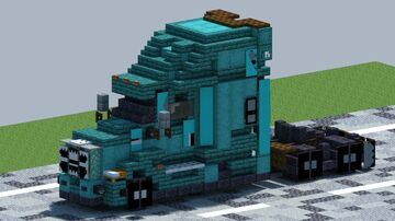 Freightliner Cascadia, truck [With Download] Minecraft Map & Project