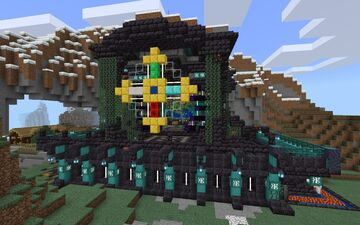 The Resplendent Castle Minecraft Map & Project