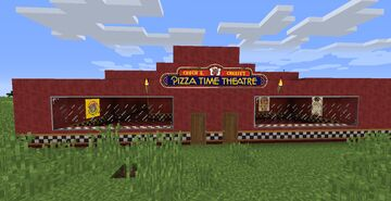 Chuck E. Cheese's Pizza Time Horror Minecraft Map & Project