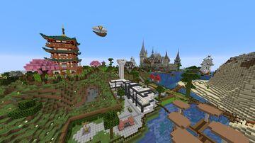 My Singleplayer World (2021) Minecraft Map & Project