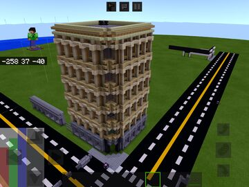 A sandstone building Minecraft Map & Project