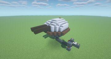 HST Mk2  -  Adjustable Arc TNT Cannon ( Scattershot | Movecraft Compatible | Adjustable Arc | Turret ) Minecraft Map & Project