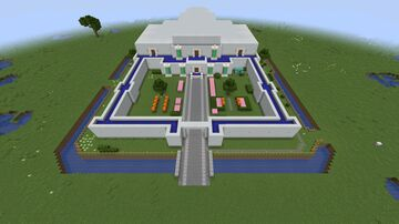 Zelda - A Link to the Past Hyrule Castle Minecraft Map & Project