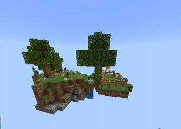 Super skyislands - skyblock Minecraft Map & Project