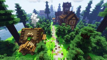 Camp Rosewood Minecraft Map & Project
