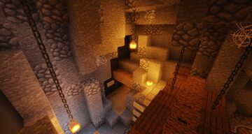 Mt. Moodon's Minecart Maze! Minecraft Map & Project