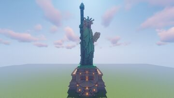 Statue of Liberty (1.17.1) Minecraft Map & Project