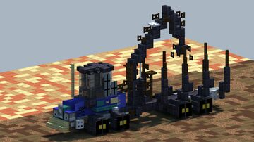 Rottne F15D, Forwarder [With Download] Minecraft Map & Project
