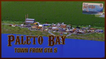 Paleto Bay - rural town from GTA V Minecraft Map & Project