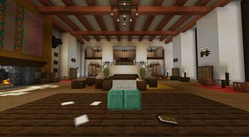 Overlook Hotel from the Shyning by Paw31 Minecraft Map & Project
