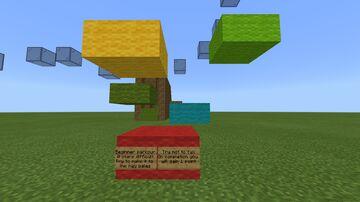 Parkour School! Bedrock Edition Minecraft Map & Project