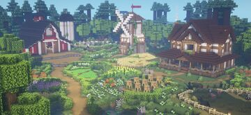 Cute Farm with tutorial Minecraft Map & Project