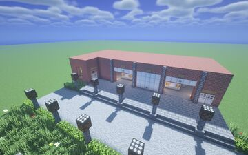 Northport volunteer fire service Minecraft Map & Project