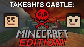 Takeshi's Castle: Minecraft Edition (Challenge!) Minecraft Map & Project