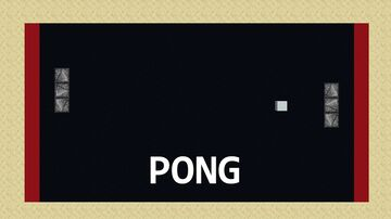 Atari Pong Minecraft Map & Project