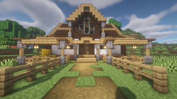 Farmhouse Therapy [Java] and [Bedrock] Minecraft Map & Project