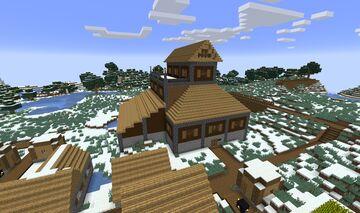 Cottaler Bardenhalle (Bard Hall of Cottal) Minecraft Map & Project