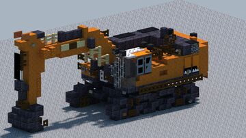 Doosan DX800LC-7 Excvator [With Download] Minecraft Map & Project