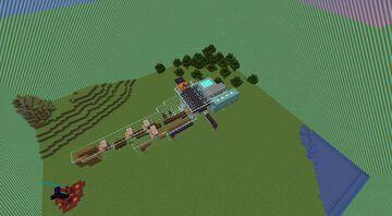 Mostly Flat Land KitPvP Minecraft Map & Project