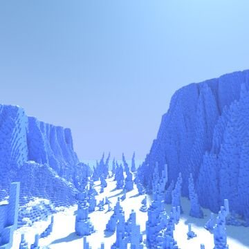 Glaebira The Icy Continent Minecraft Map & Project