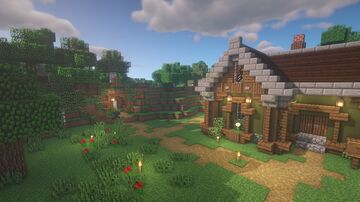 Jean's Cottage Minecraft Map & Project