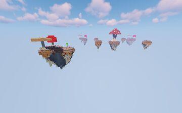 BedWars Map Mushroom Minecraft Map & Project