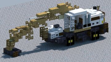 Case, Drott Cruz-Air 40, Wheeled Excavator. [With Download] Minecraft Map & Project